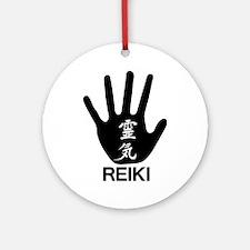 Reiki Hand Ornament (Round)