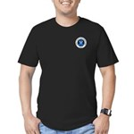 Pocket Colorectal Cancer Month Men's Fitted T-Shir