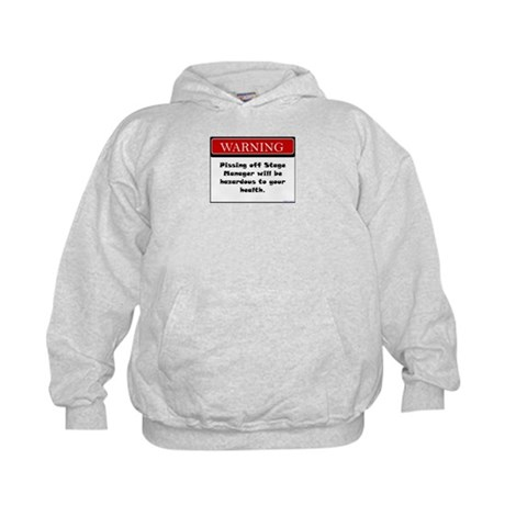 Pissing Off Stage Manager Kids Hoodie