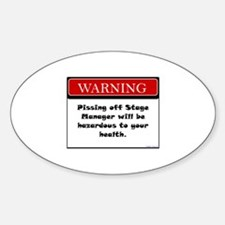 Pissing Off Stage Manager Decal