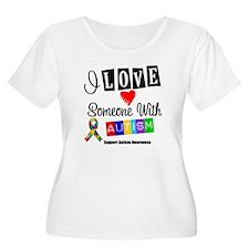 I Love Someone Autism T-Shirt