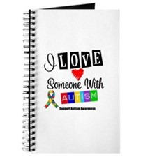 I Love Someone Autism Journal