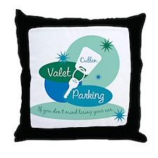 Cullen Valet Parking Throw Pillow