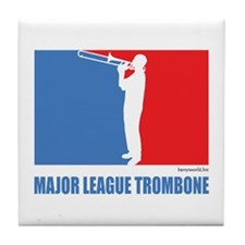 ML Trombone Tile Coaster