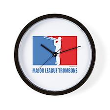 ML Trombone Wall Clock