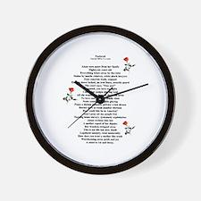 Enslaved Wall Clock