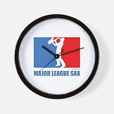 ML Sax Wall Clock