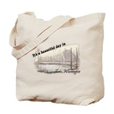Beautiful Day in Forks Tote Bag