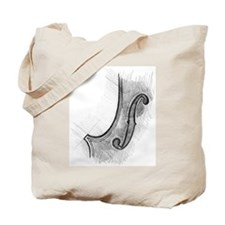 "violin ""f-hole"" Tote Bag"