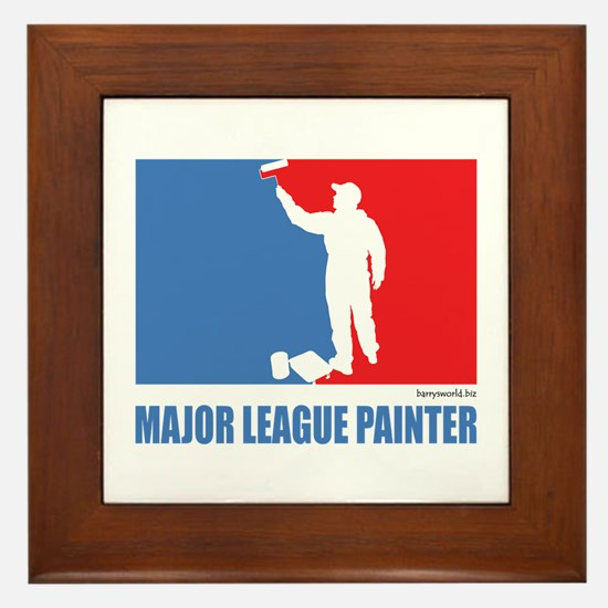 ML Painter Framed Tile