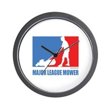 ML Mower Wall Clock