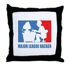 ML Hacker Throw Pillow