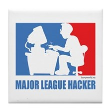 ML Hacker Tile Coaster