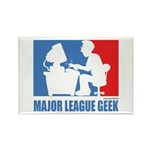 ML Geek Rectangle Magnet (100 pack)