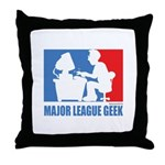 ML Geek Throw Pillow