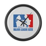 ML Geek Large Wall Clock