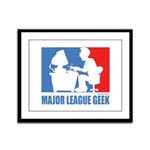 ML Geek Framed Panel Print