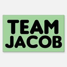 Green Team Jacob Rectangle Decal