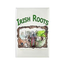 Irish Roots Rectangle Magnet
