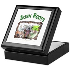Irish Roots Keepsake Box