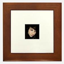 Cute Face Framed Tile