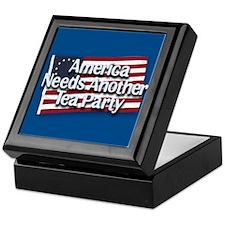 America Needs Another Tea Party Keepsake Box
