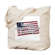 America Needs Another Tea Party Tote Bag