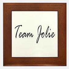 Team Jolie 1 Framed Tile