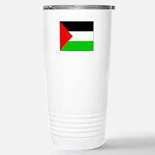 Palestinian Flag Stainless Steel Travel Mug