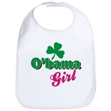 obama girl irish Bib