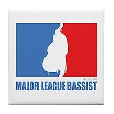 ML Bassist Tile Coaster