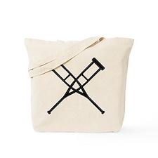 Crutches Tote Bag