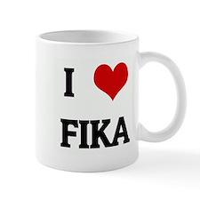 I Love FIKA Mug