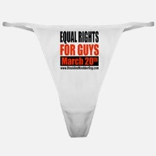 Equal Rights for Guys Classic Thong