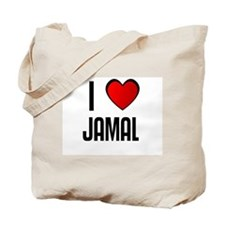 I LOVE JAMAL Tote Bag