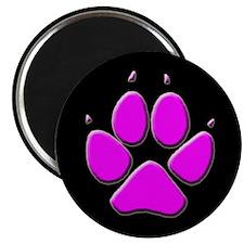 Dog Canine Track Pawprint Magnet