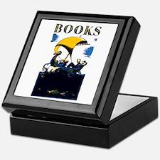 Funny Bibliophile Keepsake Box