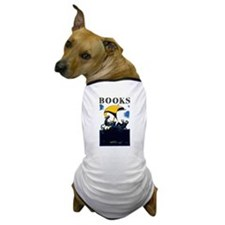 Cute Book lovers Dog T-Shirt