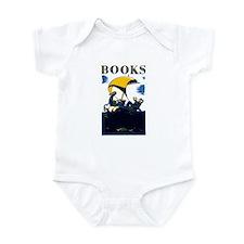 Cute Vintage book Infant Bodysuit