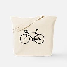 Racer Bicycle black Tote Bag
