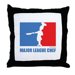 ML Chef Throw Pillow