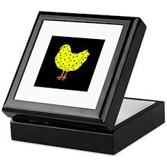 Irish Chick Keepsake Box
