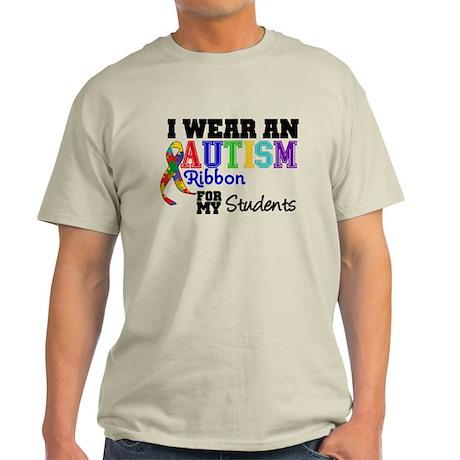Autism Ribbon Students Light T-Shirt