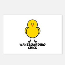 Wakeboarding Chick Postcards (Package of 8)