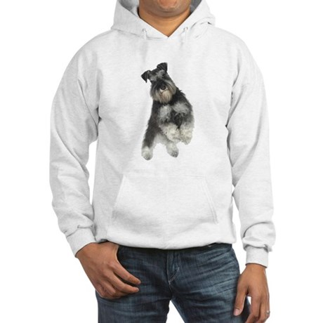 Harley Schnauzer Hooded Sweatshirt