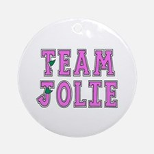 Team Jolie 2 Ornament (Round)