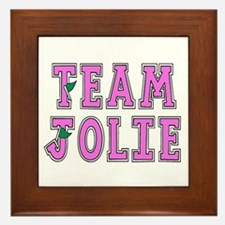 Team Jolie 2 Framed Tile