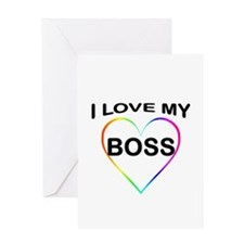 I Love My T Shirts: Greeting Card