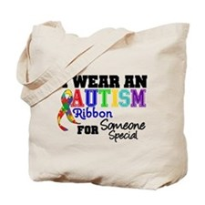 Autism Ribbon Special Tote Bag