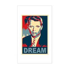 RFK DREAM Artistic Rectangle Decal